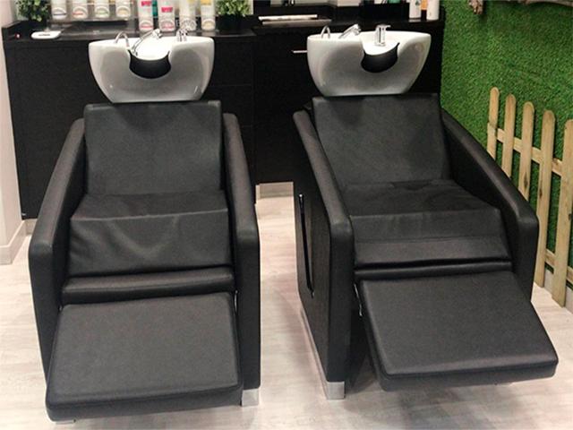 Comodos sillones para lavado
